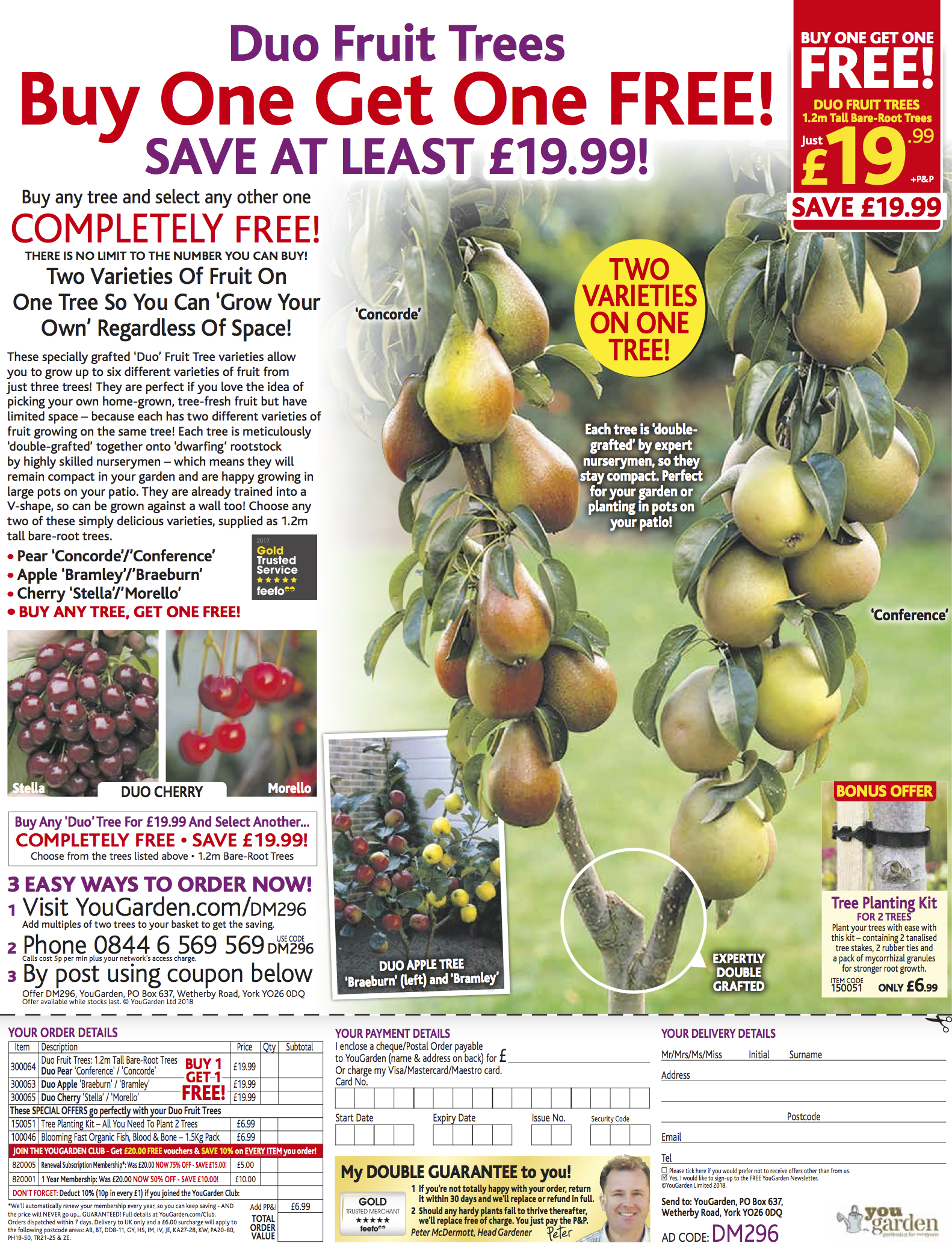 YouGdn Duo Fruit Trees - DMail A 17.2